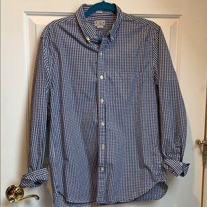 Men's j crew slim fit shirt size medium